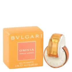 Omnia Indian Garnet Mini by Bvlgari, .17 oz Mini EDT for Women