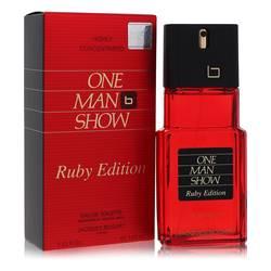 One Man Show Ruby Cologne by Jacques Bogart, 100 ml Eau De Toilette Spray for Men
