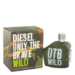 only the brave wild cologne by diesel, 125 ml eau de toilette spray for men