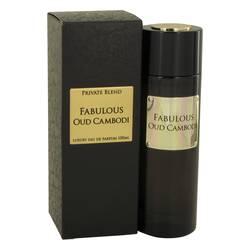 Private Blend Fabulous Oud Cambodi Perfume by Chkoudra Paris, 3.3 oz Eau De Parfum Spray for Women
