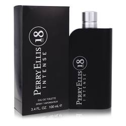 Perry Ellis 18 Intense Cologne by Perry Ellis, 3.4 oz Eau De Toilette Spray for Men