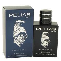 Pelias Blu Cologne by YZY Perfume 3.3 oz Eau De Parfum Spray
