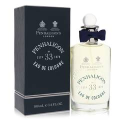 Penhaligon's No. 33 Cologne by Penhaligon's, 100 ml Eau De Cologne Spray for Men from FragranceX.com