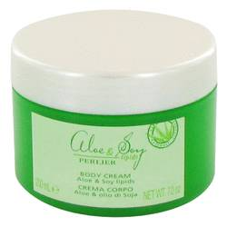Perlier Perfume by Perlier 7 oz Aloe & Soy Lipids Body Cream