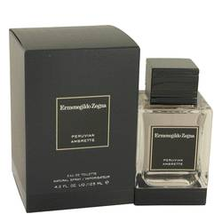 Peruvian Ambrette Cologne by Ermenegildo Zegna, 4.2 oz Eau De Toilette Spray for Men