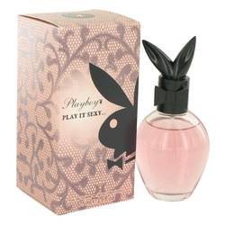 Playboy Play It Sexy Perfume by Playboy 2.5 oz Eau De Toilette Spray