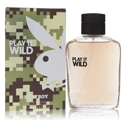 Playboy Play It Wild Cologne by Playboy, 100 ml Eau De Toilette Spray for Men
