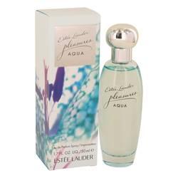 Pleasures Aqua Perfume by Estee Lauder, 50 ml Eau De Parfum Spray for Women