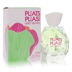 Pleats Please L'eau Perfume by Issey Miyake, 3.3 oz Eau De Toilette Spray for Women