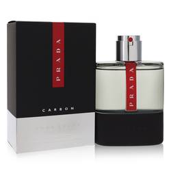 Prada Luna Rossa Carbon Cologne by Prada, 3.4 oz Eau De Toilette Spray for Men plrcar34