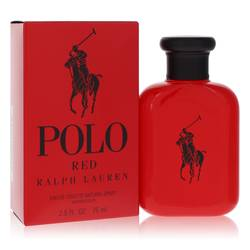 Polo Red Cologne by Ralph Lauren, 2.5 oz Eau De Toilette Spray for Men