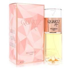 Quartz Rose Perfume by Molyneux, 3.38 oz Eau De Parfum Spray for Women