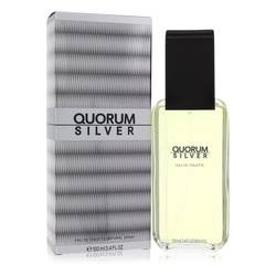Quorum Silver Cologne by Puig, 3.4 oz Eau De Toilette Spray for Men
