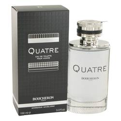 Quatre Cologne by Boucheron, 3.4 oz EDT Spray for Men