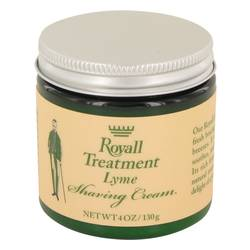 Royall Lyme Cologne by Royall Fragrances 4 oz Shaving Cream
