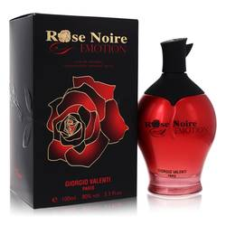 Rose Noire Emotion Perfume by Giorgio Valenti, 3.3 oz Eau De Parfum Spray for Women