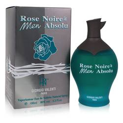 Rose Noire Absolu Cologne by Giorgio Valenti, 3.4 oz Eau De Toilette Spray for Men
