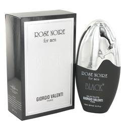 Rose Noire Black Cologne by Giorgio Valenti, 100 ml Eau De Toilette Spray for Men from FragranceX.com