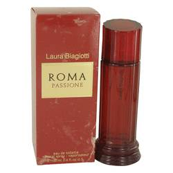 Roma Passione Perfume by Laura Biagiotti, 100 ml Eau De Toilette Spray for Women from FragranceX.com