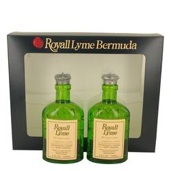 Royall Lyme Cologne by Royall Fragrances -- Gift Set - Two 4 oz All Purpose Lotion / Cologne Splash includes 2 Spray pumps