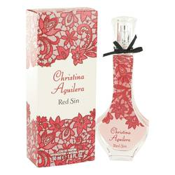 Christina Aguilera Red Sin Perfume by Christina Aguilera, 1.7 oz Eau De Parfum Spray for Women