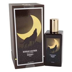 Russian Leather Perfume by Memo, 6.75 oz Eau De Parfum Spray (Unisex) for Women