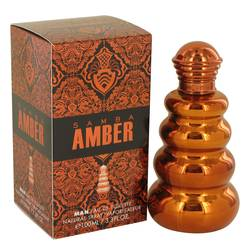 Samba Amber Cologne by Perfumers Workshop, 100 ml Eau De Toilette Spray for Men