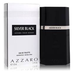 Silver Black Cologne by Azzaro 1.7 oz Eau De Toilette Spray
