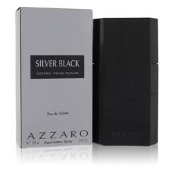 Silver Black Cologne by Azzaro 3.4 oz Eau De Toilette Spray
