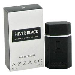 Silver Black Mini by Azzaro, .23 oz Mini EDT for Men Cologne