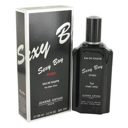 Sexy Boy Sport Cologne by Jeanne Arthes 3.4 oz Eau De Toilette Spray