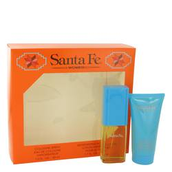 Santa Fe Perfume by Aladdin Fragrances -- Gift Set - 1 oz Cologne Spray + 1.7 oz Body Lotion