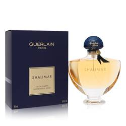 Shalimar Perfume by Guerlain, 90 ml Eau De Toilette Spray for Women from FragranceX.com