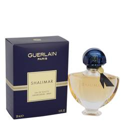 Shalimar Perfume by Guerlain 1 oz Eau De Toilette Spray