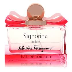 Signorina In Fiore Perfume by Salvatore Ferragamo, 100 ml Eau De Toilette Spray (Tester) for Women from FragranceX.com