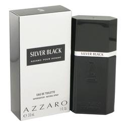 Silver Black Cologne by Azzaro, 1 oz EDT Spray for Men