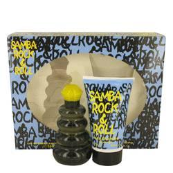Samba Rock & Roll Cologne by Perfumers Workshop -- Gift Set - 3.4 oz Eau De Toilette Spray + 4.4 Shower Gel