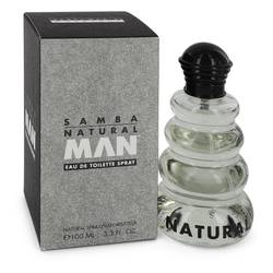 Samba Natural Cologne by Perfumers Workshop 3.4 oz Eau De Toilette Spray