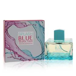 Splash Blue Seduction Perfume by Antonio Banderas, 100 ml Eau De Toilette Spray for Women