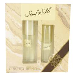 Sand & Sable Perfume by Coty -- Gift Set - 2 oz Cologne Spray + 1 oz Cologne Spray