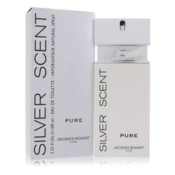 Silver Scent Pure Cologne by Jacques Bogart, 100 ml Eau De Toilette Spray for Men