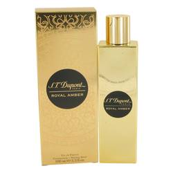 St Dupont Royal Amber Perfume by ST Dupont, 3.3 oz Eau De Parfum Spray (Unisex) for Women