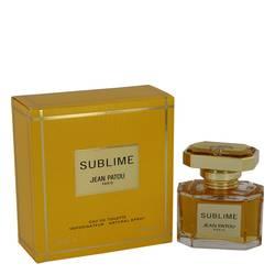 Sublime Perfume by Jean Patou, 1 oz Eau De Toilette Spray for Women