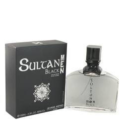 Sultan Black Cologne by Jeanne Arthes 3.3 oz Eau De Toilette Spray