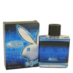 Super Playboy Cologne by Coty, 100 ml Eau DE Toilette Spray for Men