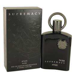 Supremacy Noir Cologne by Afnan, 3.4 oz Eau De Parfum Spray for Men