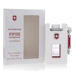 Swiss Unlimited Snowflower Perfume by Victorinox, 1 oz Eau De Toilette Spray for Women