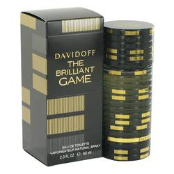 The Brilliant Game Cologne by Davidoff, 2 oz Eau De Toilette Spray for Men