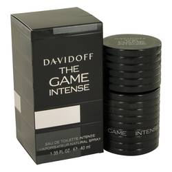 The Game Intense Cologne by Davidoff, 38 ml Eau DE Toilette Spray for Men