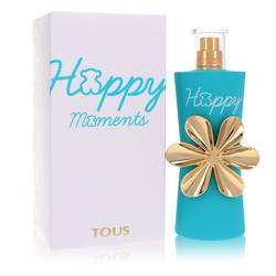 Tous Happy Moments Perfume by Tous, 90 ml Eau De Toilette Spray for Women